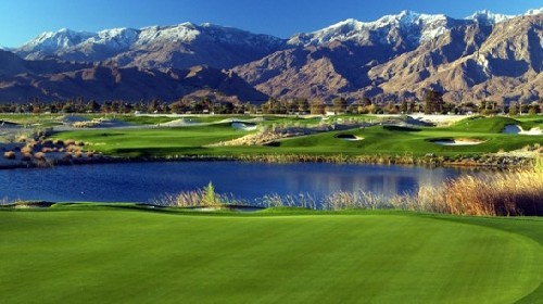Palm Springs golf course overseed and maintenance schedule for 2009